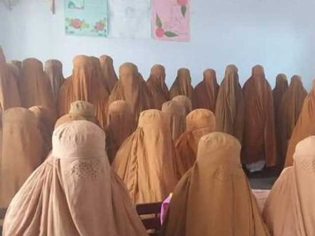 039 i had decided to purchase chadors for the female students but after consultation with local leaders i bought the burqas 039 photo file