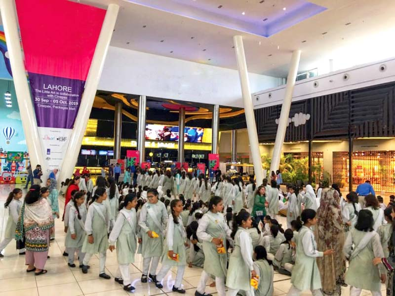 small kids take to the big screen in lahore