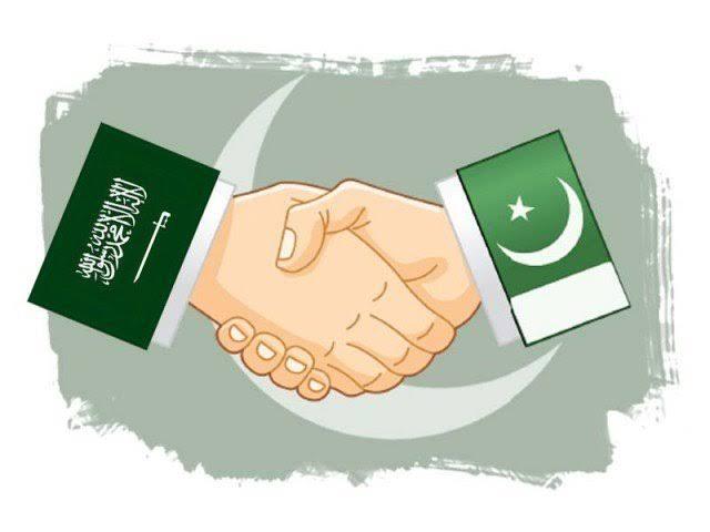 hearts of the pakistani people beat with saudi arabia photo file
