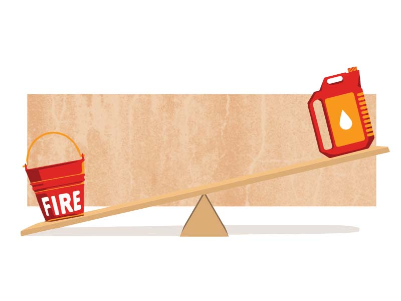 running on empty fuel supply suspension compounds karachi fire dept s woes