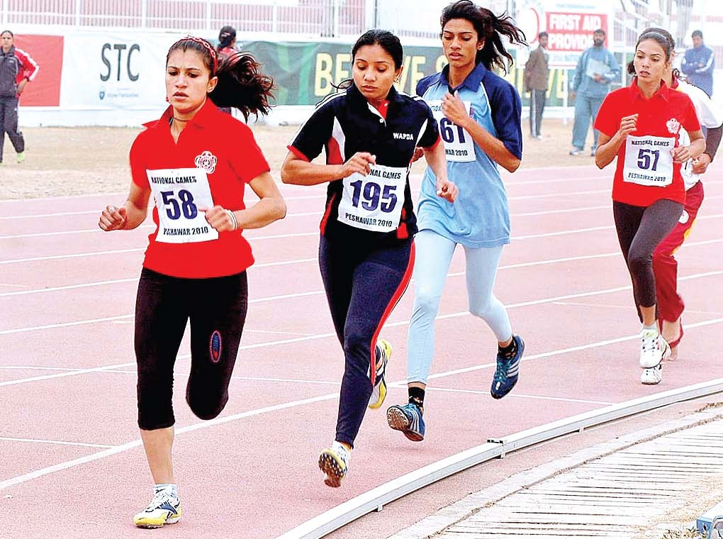 400 female athletes of k p to compete in national games