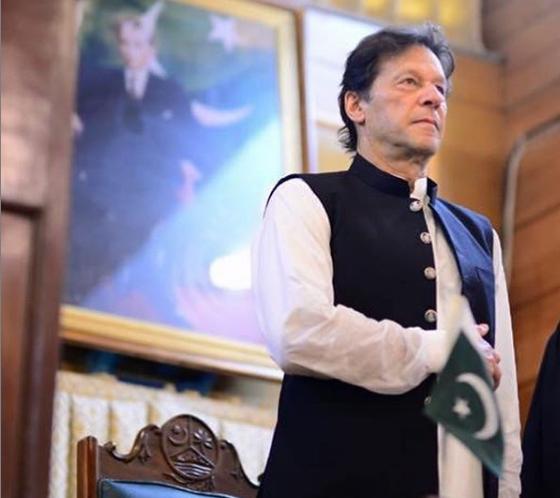prime minister imran khan photo file