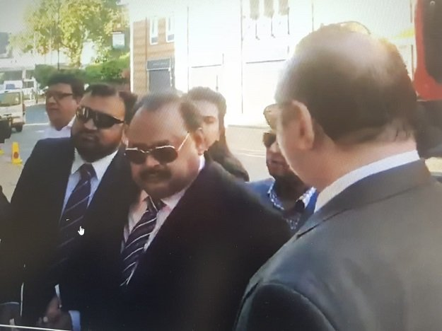 mqm founder altaf hussain was formally charged by scotland yard on thursday photo express
