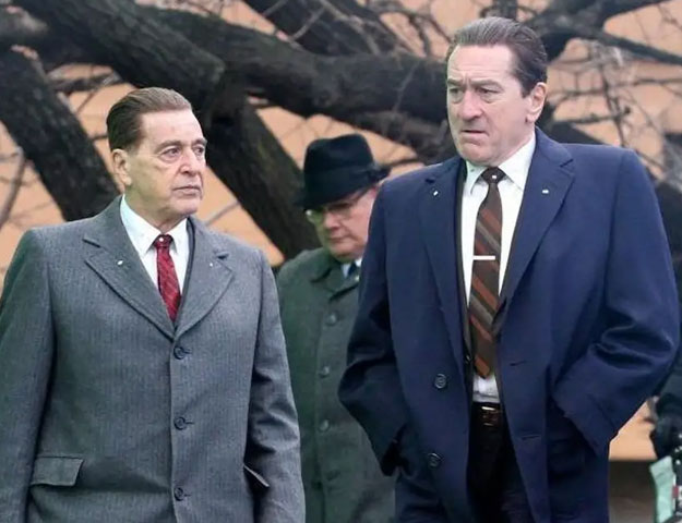martin scorsese wanted to try something new with de niro pacino s the irishman