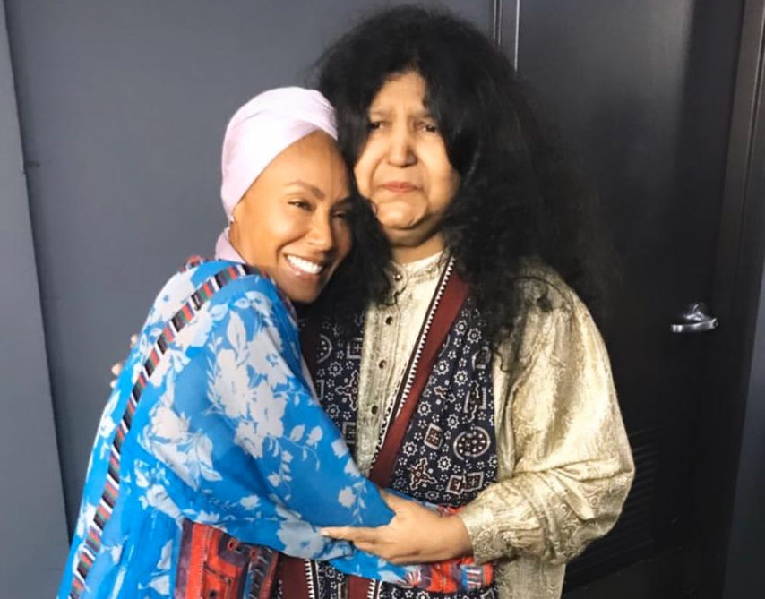 jada pinkett smith says abida parveen is her spiritual mother