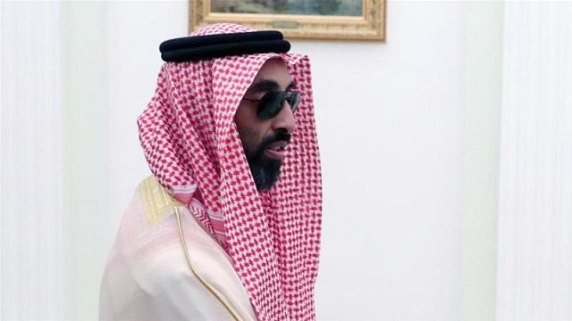 sheikh tahnoun bin zayed al nahyan has been visiting tehran on a secret mission photo epa
