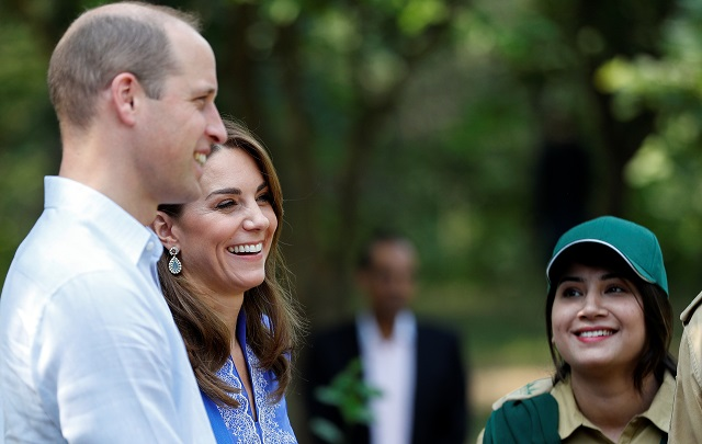 royals start pakistan tour with support for education environment