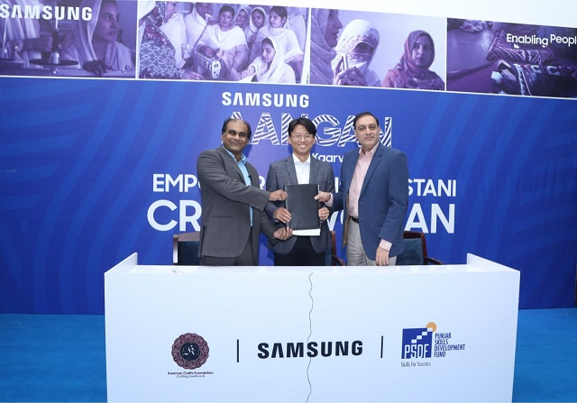 samsung pakistan launches initiative to empower women in rural areas