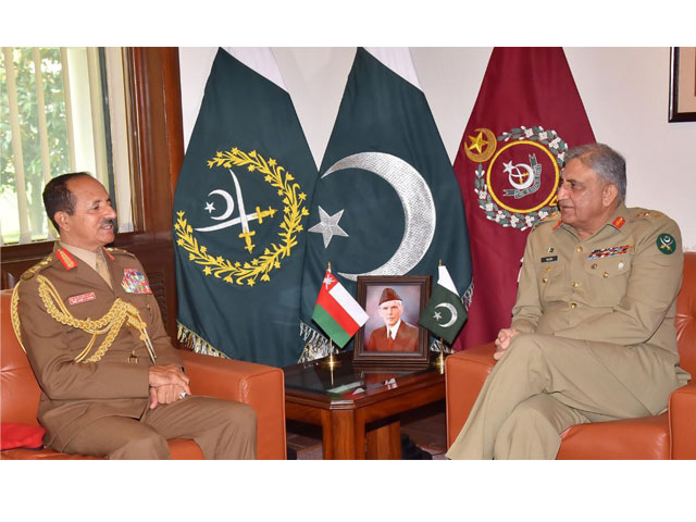 oman s military chief hails pakistan army s fight against terrorism