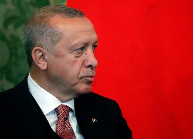 erdogan says turkey can never declare ceasefire in north syria