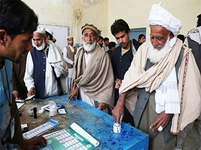 polling underway for ps 11 larkana by elections