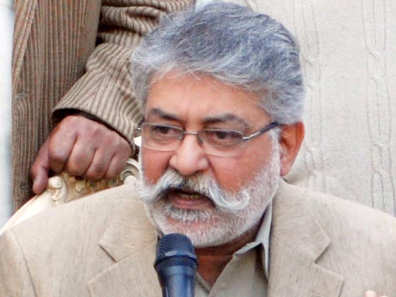 Head of the Grand Democratic Alliance Pir Pagara Sibghatullah Shah Rashdi. PHOTO: FILE
