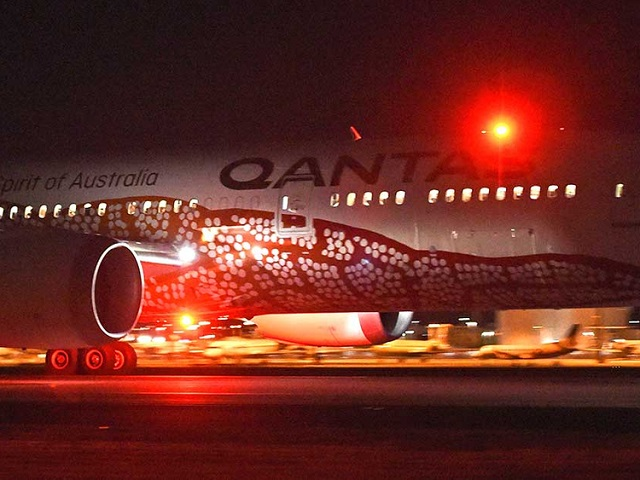"""A  Qantas spokesperson said the test flights are """"just one part of the work we are doing to assess how to the operate these flights safely"""". PHOTO: AFP/FILE"""