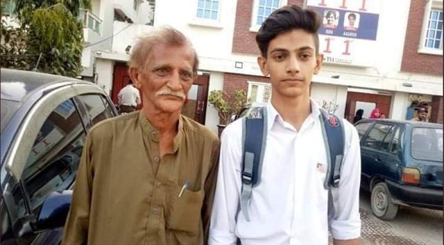 newspaper hawker s son defies odds to top karachi s intermediate exam