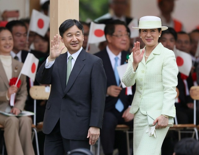 Naruhito, 59, and Empress Masako, a 55-year-old Harvard-educated former diplomat, took over in May in a brief, tradition-filled ceremony. PHOTO: AFP/FILE