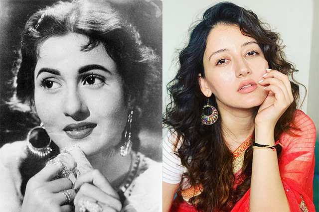 madhubala s lookalike has taken social media by storm