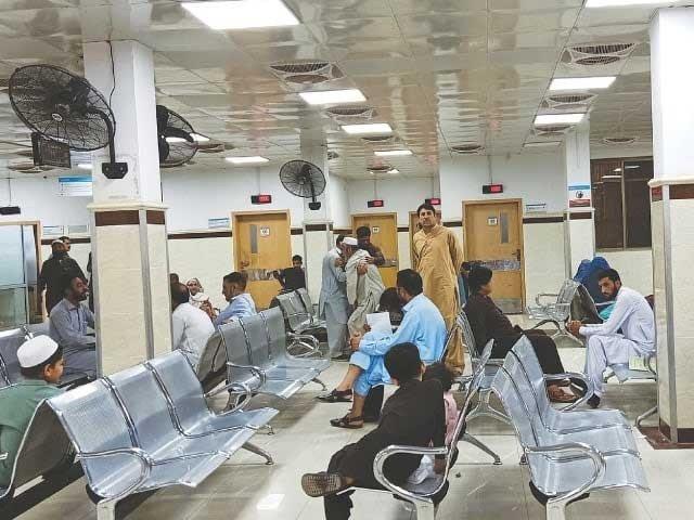 patients continue to suffer in k p as deadlock persists between govt gha