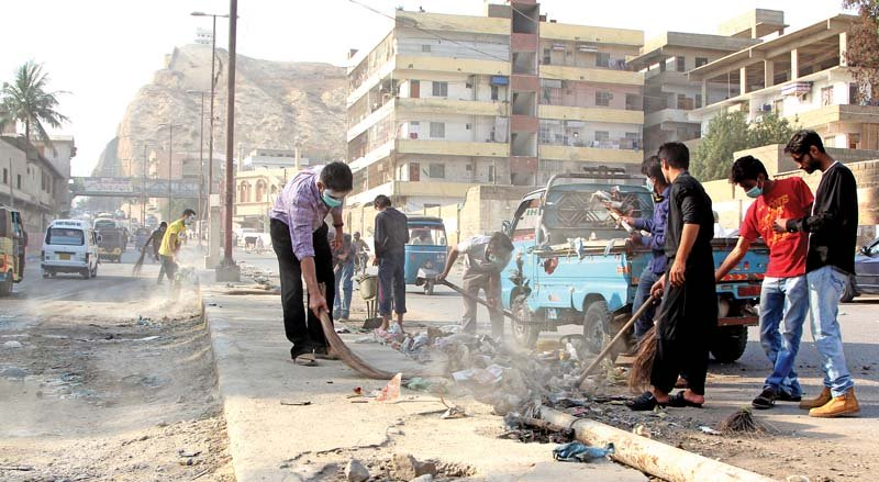 sindh opposition picks holes in clean my karachi as drive ends