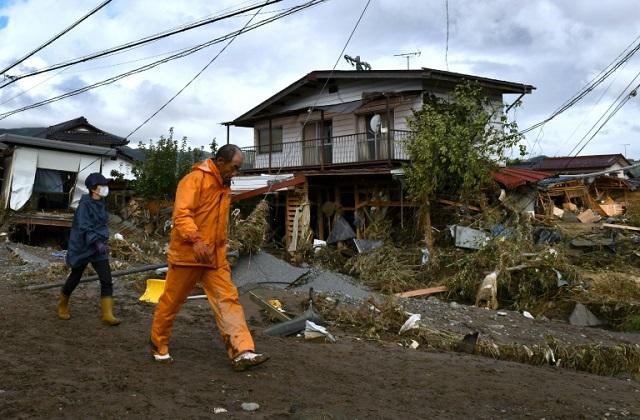 four dead in landslides floods weeks after typhoon hit japan
