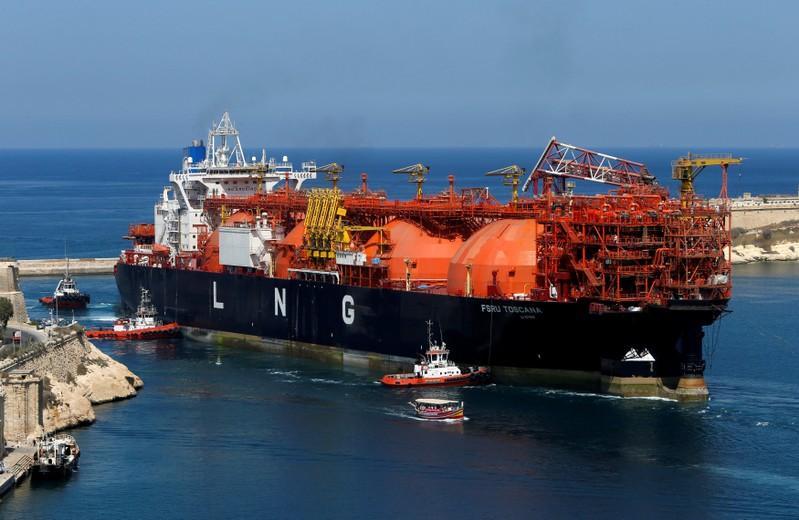exxonmobil to help build lng terminal in pakistan