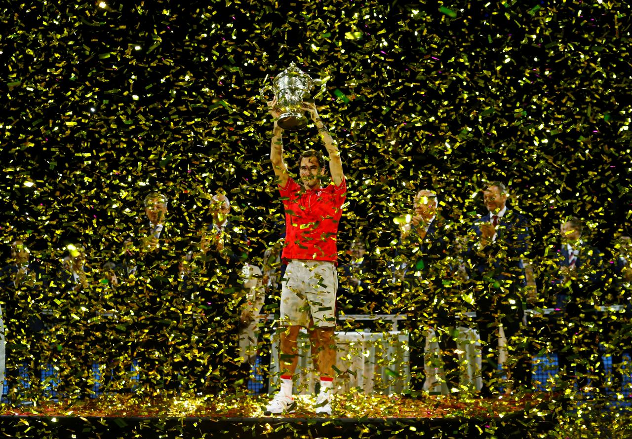 federer captures unbelievable 10th basel title