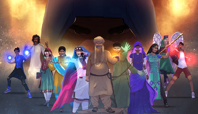 pasbaan legion first look of pakistani superheroes series is out
