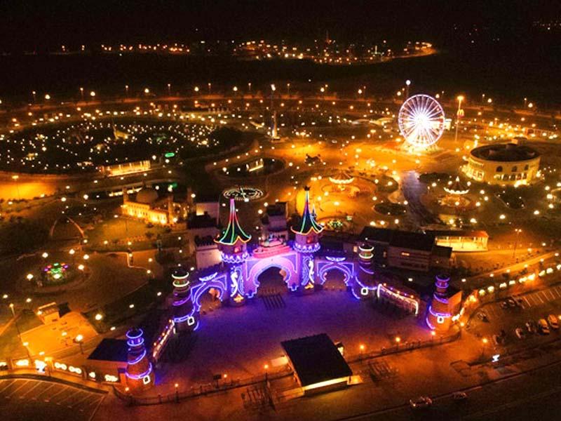 adventure land set to open at bahria town karachi