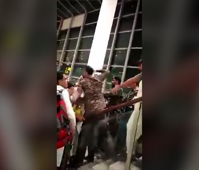pm suspends top officials over islamabad airport brawl