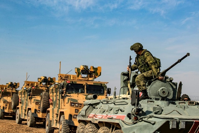 turkey russia launch joint patrols in northern syria