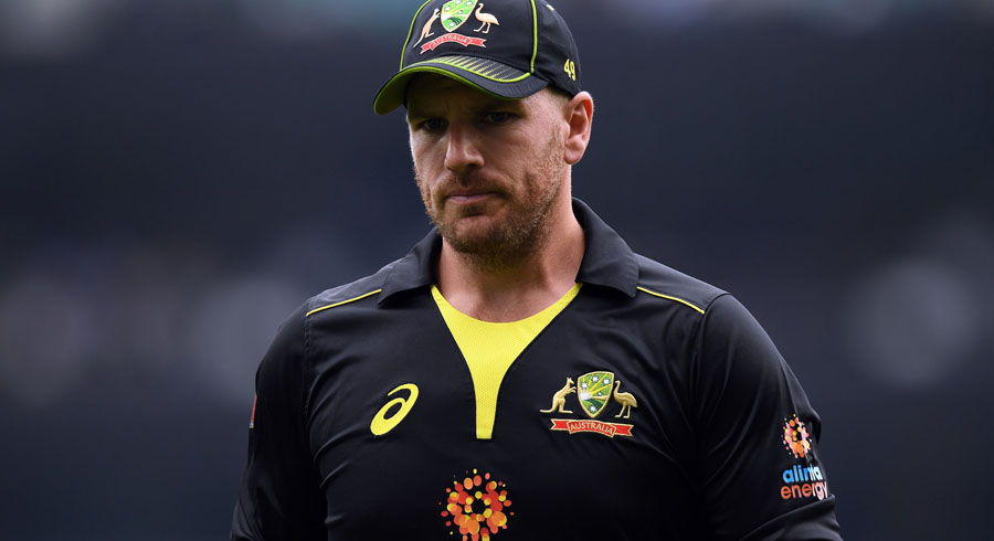 finch unhappy with icc rules after rain abandons first t20i