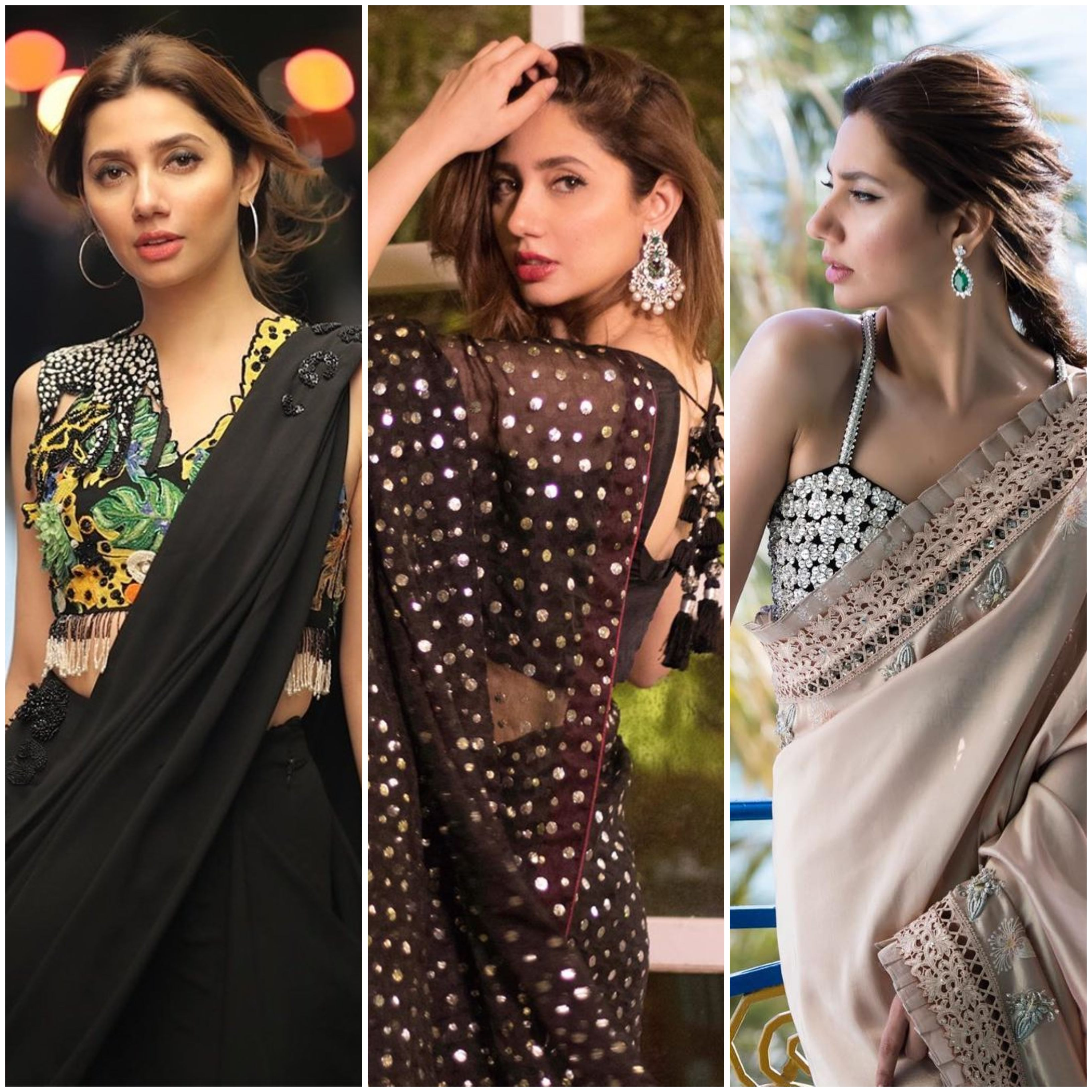 mahira khan and the many different ways to rock a sari