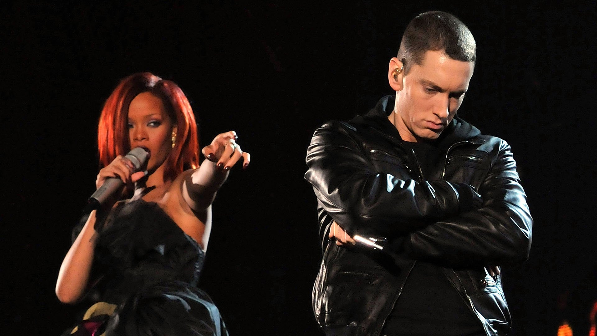 eminem says he would ve sided with chris brown and beat rihanna too