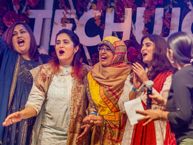 pakistan listed in top five at techwomen19