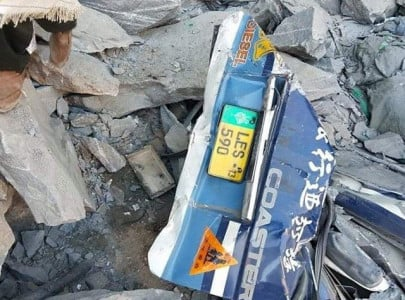 16 killed as landslide hits skardu bound passenger coach