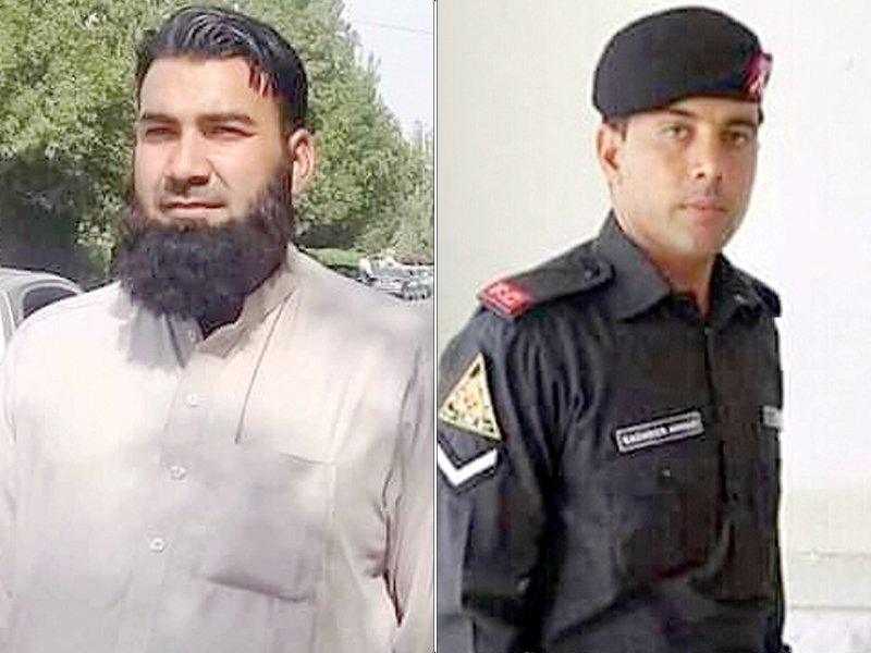 two martyred fc officials laid to rest