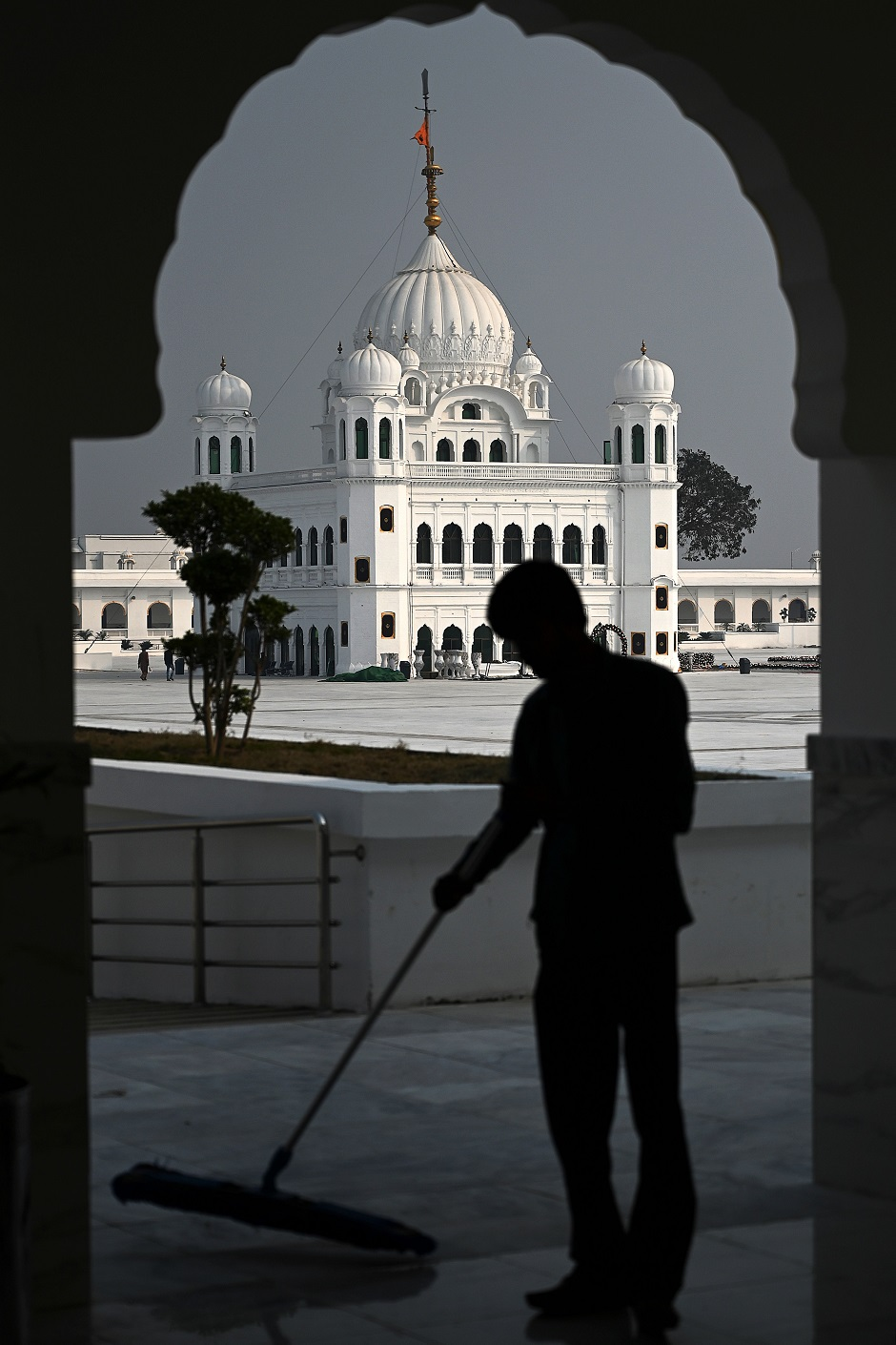 in pictures pakistan readies gurdwara darbar sahib for sikh pilgrims