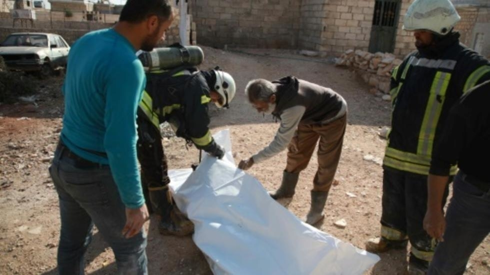russian regime strikes kill eight civilians in nw syria observatory for human rights
