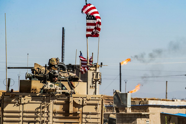 pentagon syria oil revenue going to kurdish fighters