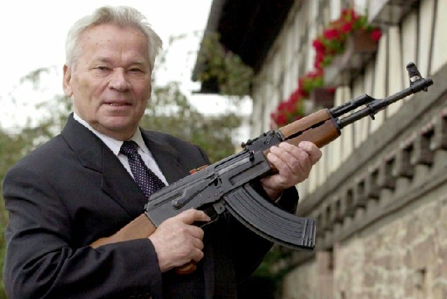 pupils learn to assemble ak 47 rifles as russia marks kalashnikov s centenary
