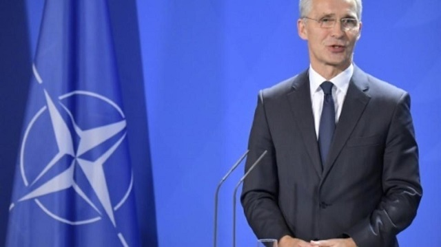 trump to host nato chief as alliance faces strains