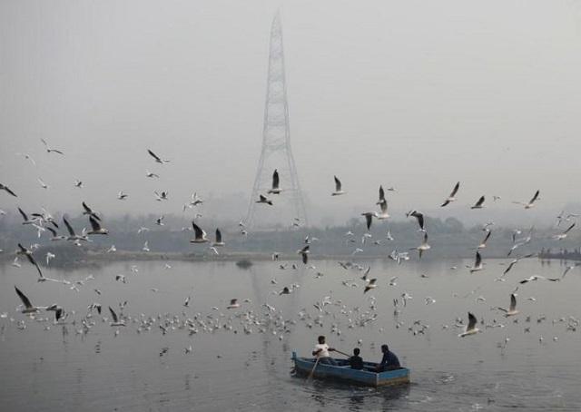 haze wraps india s capital again as air quality plummets