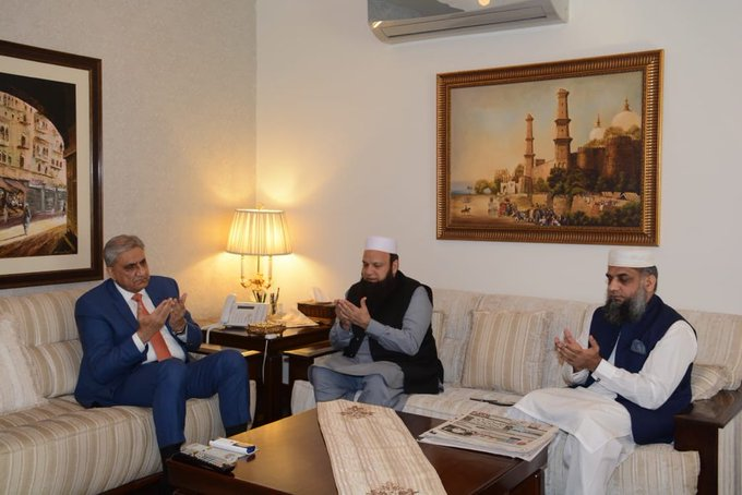 army chief meets tablighi ijtima delegation