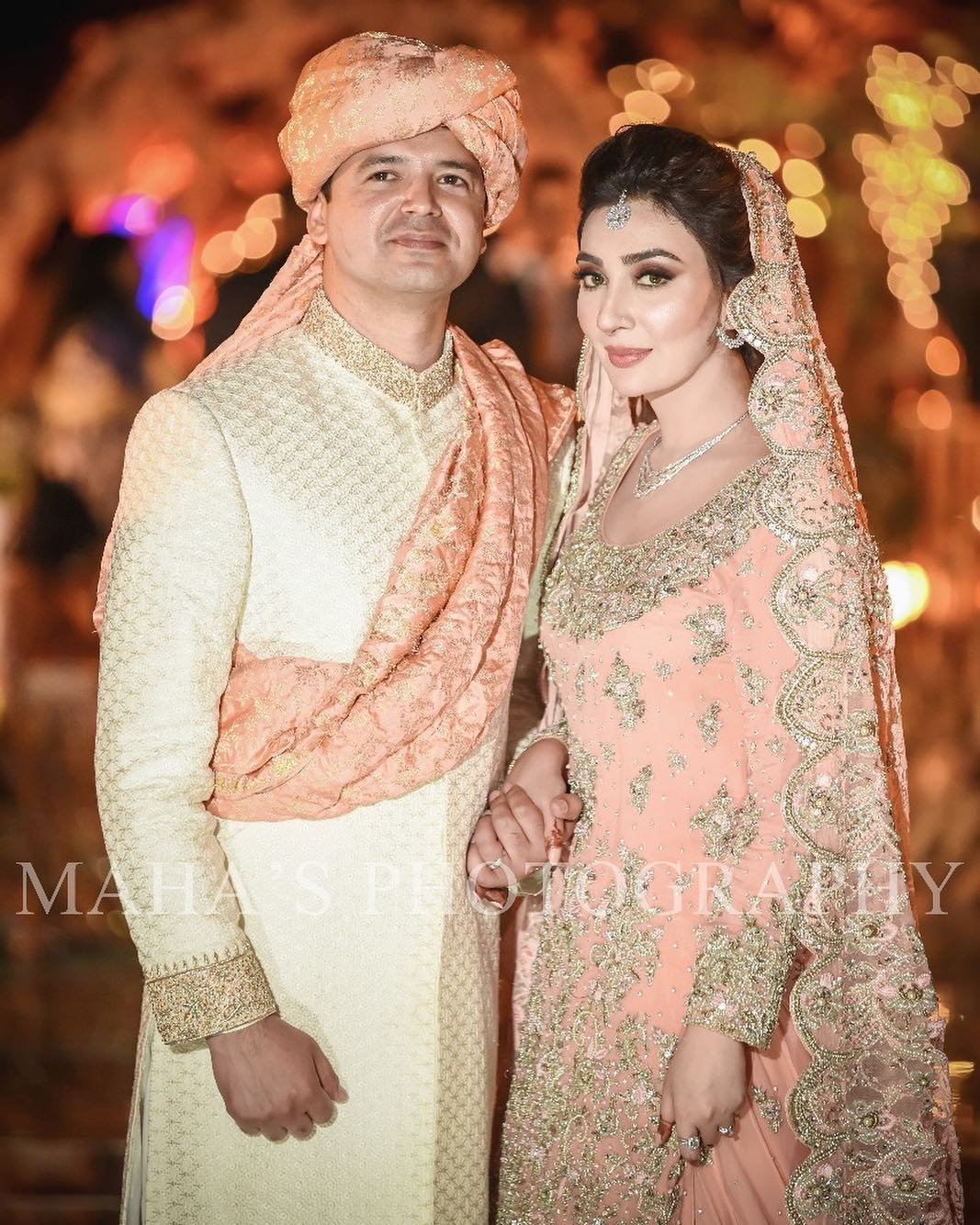 ayesha khan husband welcome baby girl