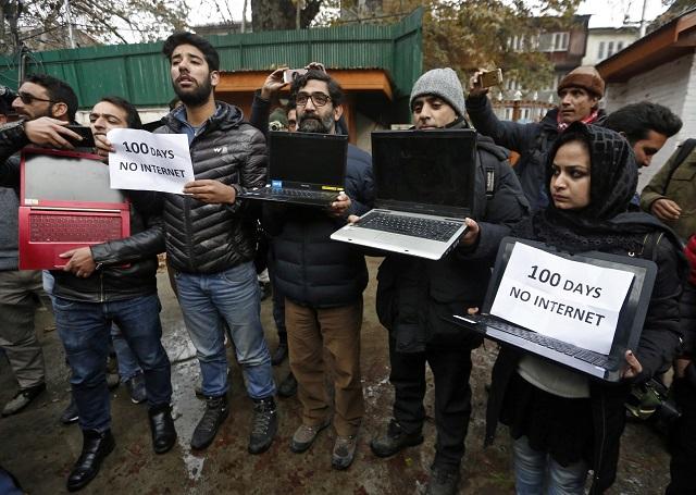 occupied kashmir marks 100 days of autonomy loss lockdown