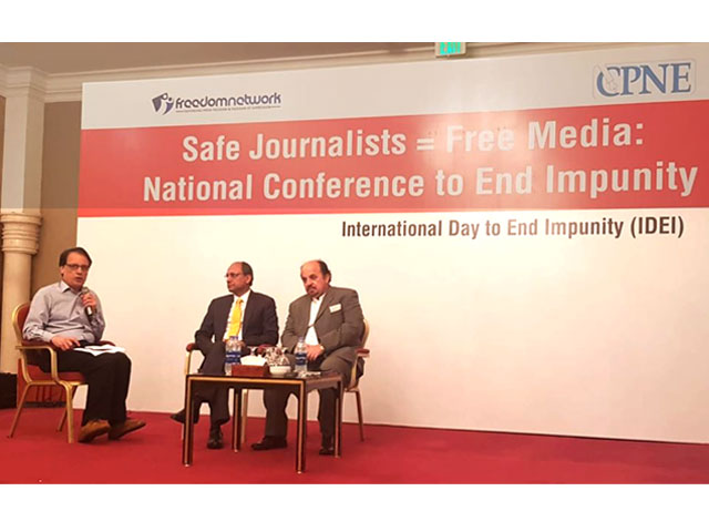 sindh to enact law on journalists safety