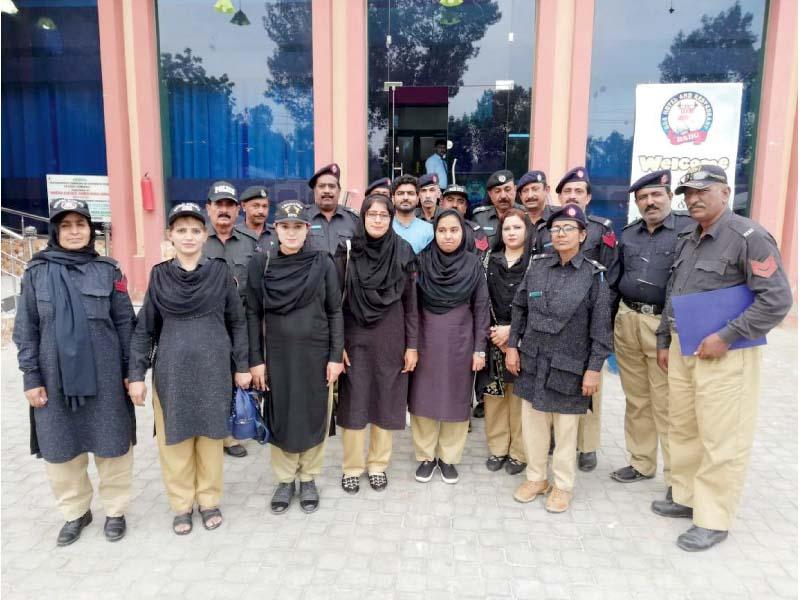 cops partake in workshop on violence against women