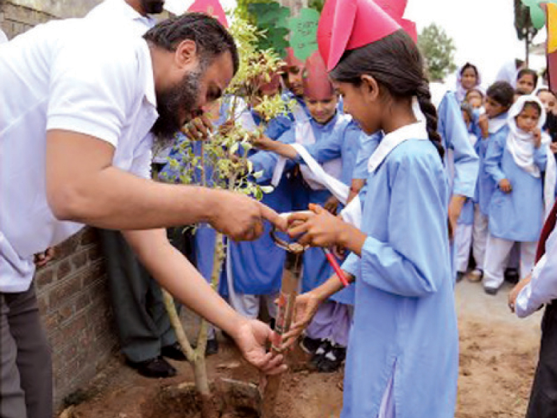 schools across islamabad to teach climate change