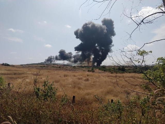 MiG 29K Crash Site: PHOTO: Hindustan Times