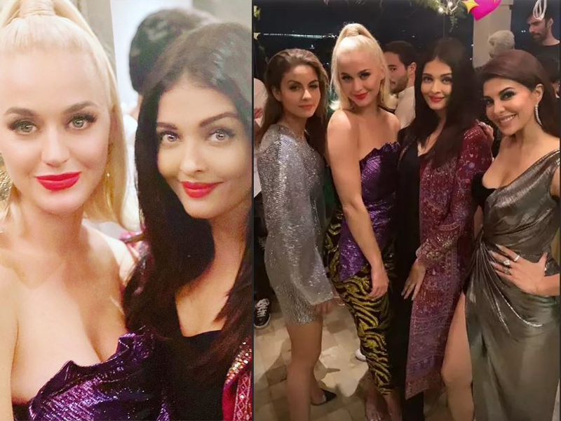 bollywood celebrities party it up with katy perry