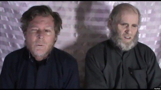 taliban release us australian hostages in prisoner swap